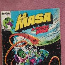 Cómics: LA MASA, EL INCREIBLE HULK Nº 18. Lote 175946875