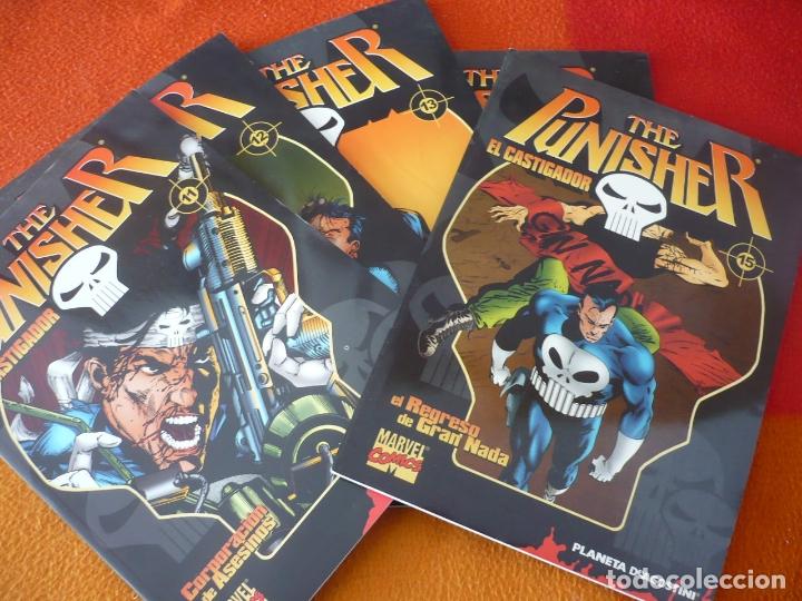 THE PUNISHER COLECCIONABLE 11, 12, 13, 14 Y 15 ( BARON ) ¡BUEN ESTADO! EL CASTIGADOR FORUM MARVEL (Tebeos y Comics - Forum - Otros Forum)
