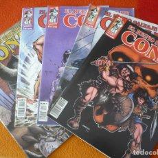 Cómics: EL REINO SALVAJE DE CONAN 16, 17, 18, 19 Y 20 ( ZELENETZ SILVESTRI ) ¡MUY BUEN ESTADO! FORUM MARVEL. Lote 175995627