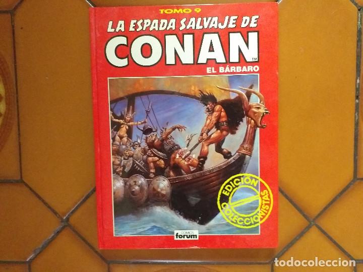 LA ESPADA SALVAJE DE CONAN EL BÁRBARO. TOMO 9. (Tebeos y Comics - Forum - Conan)