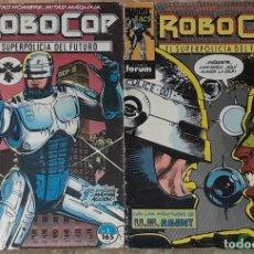 Cómics: LOTE DE COMICS ROBOCOP NUMERO 1 Y 9 FORUM. Lote 176128890