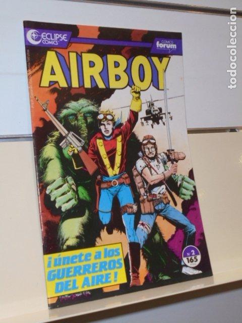 AIRBOY Nº 2 ECLIPSE COMICS - FORUM - OFERTA (Tebeos y Comics - Forum - Otros Forum)