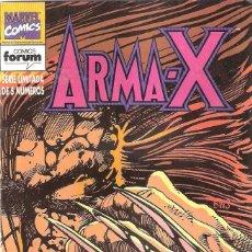 Cómics: ARMA X LOBEZNO COLECCIÓN COMPLETA 5 NÚMEROS FORUM. Lote 176135103
