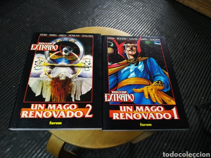 DOCTOR EXTRAÑO LOTE 1 Y 2 (OBRAS MAESTRAS 33 Y 34 (FORUM) (Tebeos y Comics - Forum - Prestiges y Tomos)
