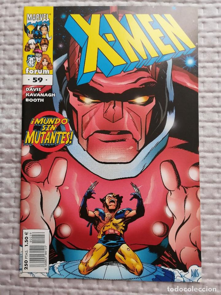 X-MEN VOL 2 Nº 59 FORUM GUIÓN DE ALAN DAVIS BUEN ESTADO (Tebeos y Comics - Forum - X-Men)
