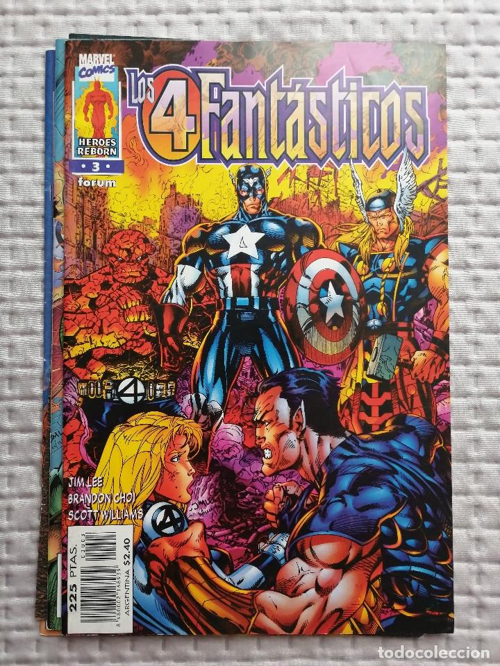 LOS 4 FANTASTICOS HEROES REBORN Nº 3 FORUM JIM LEE. BUEN ESTADO (Tebeos y Comics - Forum - 4 Fantásticos)