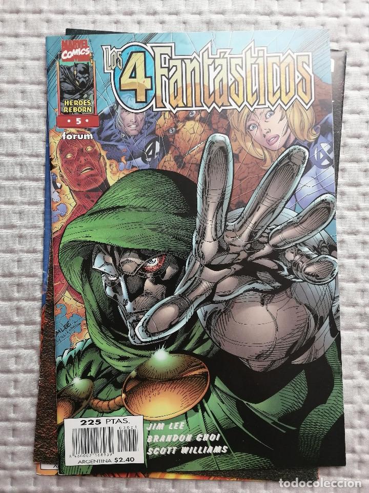 LOS 4 FANTASTICOS HEROES REBORN Nº 5 FORUM JIM LEE. BUEN ESTADO (Tebeos y Comics - Forum - 4 Fantásticos)