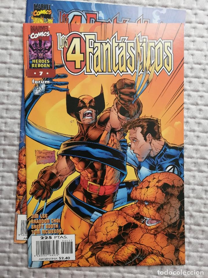 LOS 4 FANTASTICOS HEROES REBORN Nº 7 FORUM . BUEN ESTADO (Tebeos y Comics - Forum - 4 Fantásticos)