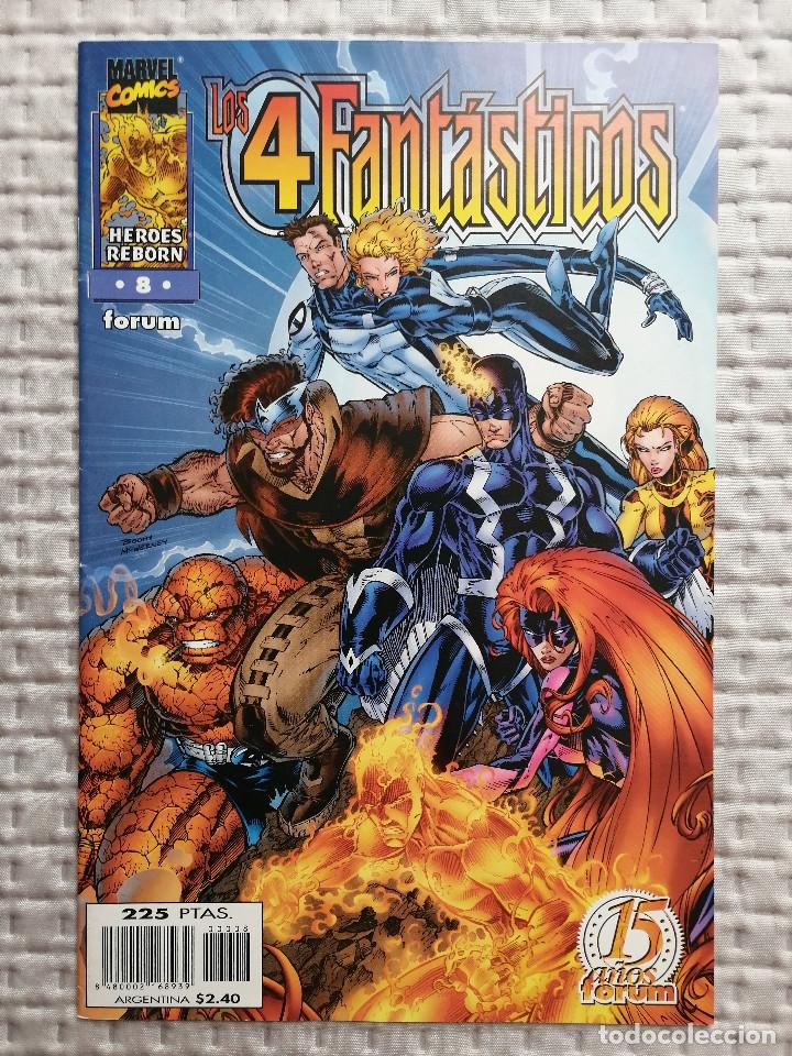 LOS 4 FANTASTICOS HEROES REBORN Nº 8 FORUM . BUEN ESTADO (Tebeos y Comics - Forum - 4 Fantásticos)