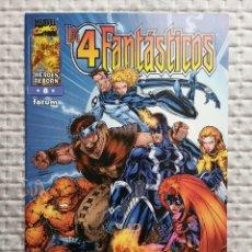Cómics: LOS 4 FANTASTICOS HEROES REBORN Nº 8 FORUM . BUEN ESTADO. Lote 176170064