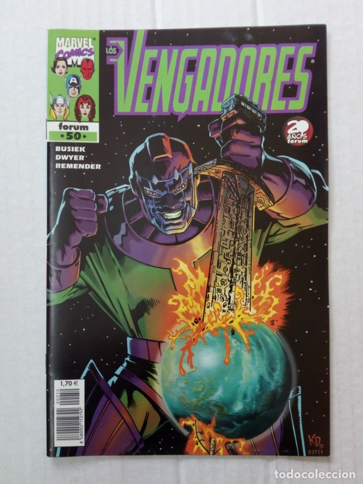 LOS VENGADORES Nº 50. BUSIEK, DWYER, REMENDER (Tebeos y Comics - Forum - Vengadores)