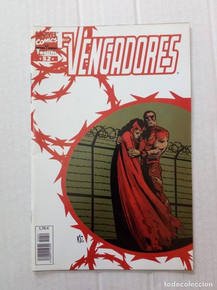 LOS VENGADORES Nº 52. BUSIEK, ANDERSON, PALMER (Tebeos y Comics - Forum - Vengadores)