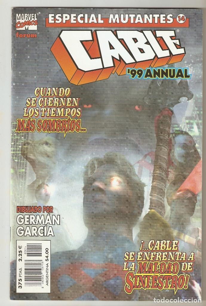 ESPECIAL MUTANTES - Nº 14 - CABLE 99 ANNUAL - FEBRERO 2000 - FORUM - (Tebeos y Comics - Forum - Patrulla X)