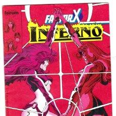 Cómics: FACTOR X-INFERNO,NUMERO 17,COMICS FORUM,1988,MARVEL,STAN LEE. Lote 176219638
