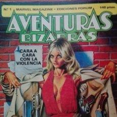 Cómics: AVENTURAS BIZARRAS Nº 1 MARVEL MAGAZINE- EDICIONES FORUM . Lote 176232067