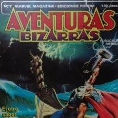 Cómics: AVENTURAS BIZARRAS Nº 7 MARVEL MAGAZINE- EDICIONES FORUM . Lote 176232104