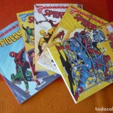 Cómics: SPIDERMAN BIBLIOTECA MARVEL 1, 2, 3, 4 Y 5 ( STAN LEE DITKO ) ¡BUEN ESTADO! FORUM EXCELSIOR. Lote 176296563