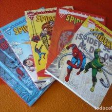 Cómics: SPIDERMAN BIBLIOTECA MARVEL 6, 7, 8, 9 Y 10 ( STAN LEE DITKO ) ¡BUEN ESTADO! FORUM EXCELSIOR. Lote 176296685