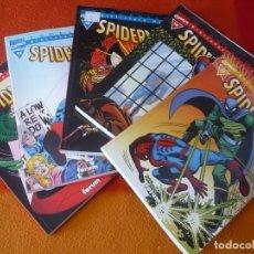 Cómics: SPIDERMAN BIBLIOTECA MARVEL 11, 12, 13, 14 Y 15 ( STAN LEE DITKO ) ¡BUEN ESTADO! FORUM EXCELSIOR. Lote 176296898