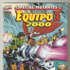 Cómics: ESPECIAL MUTANTES - Nº 13 - EQUIPO X 2000 - ENERO 2000 - FORUM -. Lote 176297038