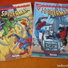 Cómics: SPIDERMAN BIBLIOTECA MARVEL NºS 26 Y 27 ( ROMITA WOLFMAN ) ¡BUEN ESTADO! FORUM EXCELSIOR. Lote 176297085