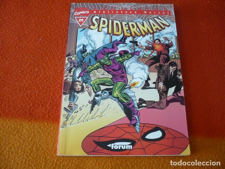 SPIDERMAN BIBLIOTECA MARVEL Nº 29 ( WEIN ANDRU ) ¡BUEN ESTADO! FORUM EXCELSIOR (Tebeos y Comics - Forum - Spiderman)