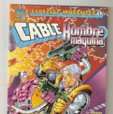 Cómics: ESPECIAL MUTANTES - Nº 1 - CABLE Y HOMBRE MÁQUINA - ENERO 1999 - FORUM -. Lote 176300087