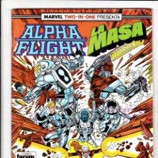 Cómics: ALPHA FLIGHT / LA MASA Nº 49 VOL-1 64 PAGÍNAS. FORUM. Lote 176315760