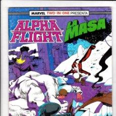 Cómics: ALPHA FLIGHT / LA MASA Nº 47 VOL-1 64 PAGÍNAS. FORUM. Lote 176315908