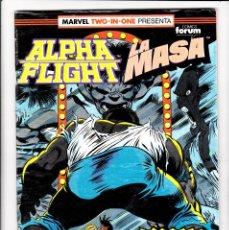 Cómics: ALPHA FLIGHT / LA MASA Nº 54 VOL-1 64 PAGÍNAS. FORUM. Lote 176315984