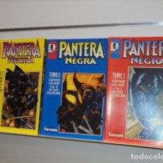 Cómics: PANTERA NEGRA COMPLETA 16 NUMEROS EN 3 TOMOS RETAPADOS - FORUM OCASION. Lote 176320024