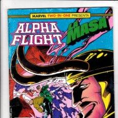Cómics: ALPHA FLIGHT / LA MASA Nº 44 VOL-1 64 PAGÍNAS. FORUM. Lote 176389330