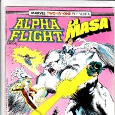 Cómics: ALPHA FLIGHT / LA MASA Nº 40 VOL-1 64 PAGÍNAS. FORUM. Lote 176389383