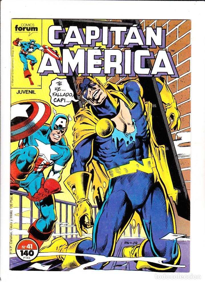 CAPTAN AMERICA VOL 1 Nº 41 - FORUM (Tebeos y Comics - Forum - Capitán América)