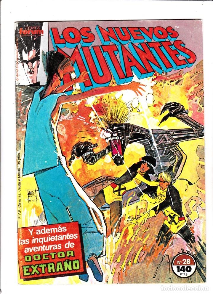 LOS NUEVOS MUTANTES VOLUMEN 1 NUMERO 28 NO RETAPADO CON POSTER (Tebeos y Comics - Forum - Nuevos Mutantes)