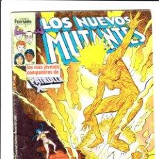 Cómics: LOS NUEVOS MUTANTES VOLUMEN 1 NUMERO 11 NO RETAPADO . Lote 176400243