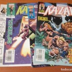 Cómics: KA-ZAR EDITORIAL PLANETA-DEAGOSTINI LOTE 4 Nº.. Lote 176401192