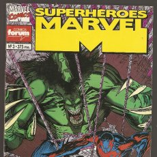 Cómics: SUPERHÉROES MARVEL VOL.1 - Nº 3 - 2099 UNLIMITED HULK 2099 SPIDERMAN 2099 - JUNIO 1994 - FORUM -2-. Lote 176417213