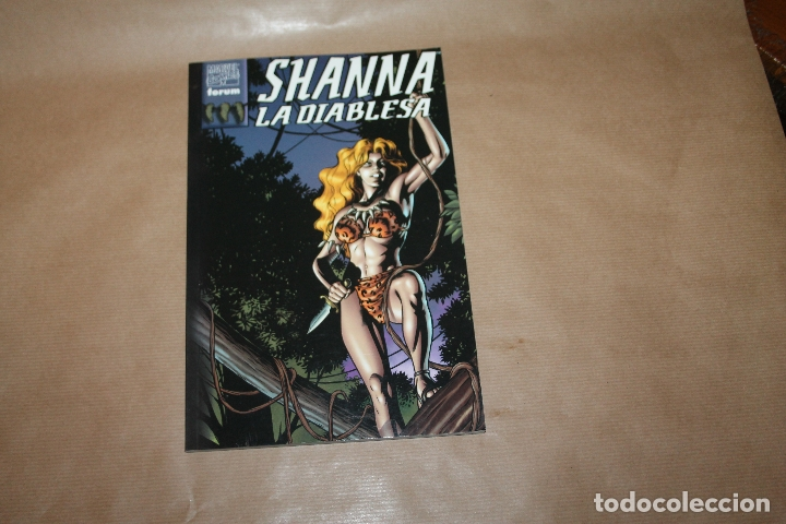 SHANNA LA DIABLESA Nº 1 , EDITORIAL FORUM (Tebeos y Comics - Forum - Prestiges y Tomos)