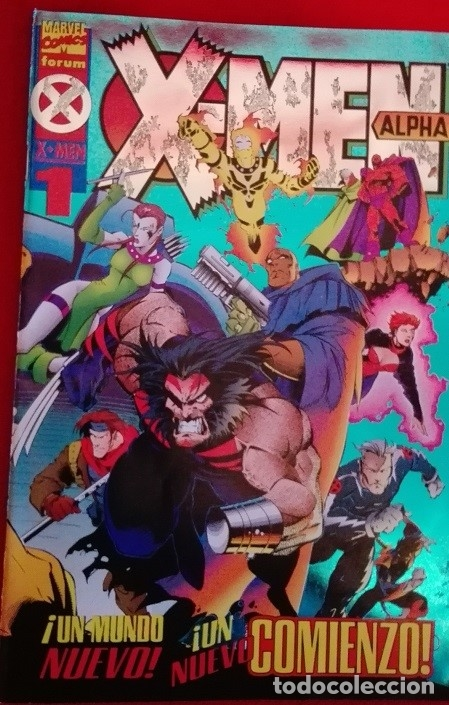 X-MEN ALPHA 1 - FORUM (Tebeos y Comics - Forum - X-Men)