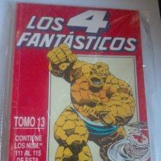 Cómics: LOS 4 FANTÁSTICOS TOMO 13 PRIMERA EDICIÓN- 111-112-113-114-115 #LL. Lote 176492179
