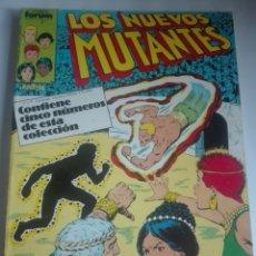 Cómics: LOS NUEVOS MUTANTES PRIMERA EDICIÓN 11-12-13-14-15 # LL. Lote 176529559