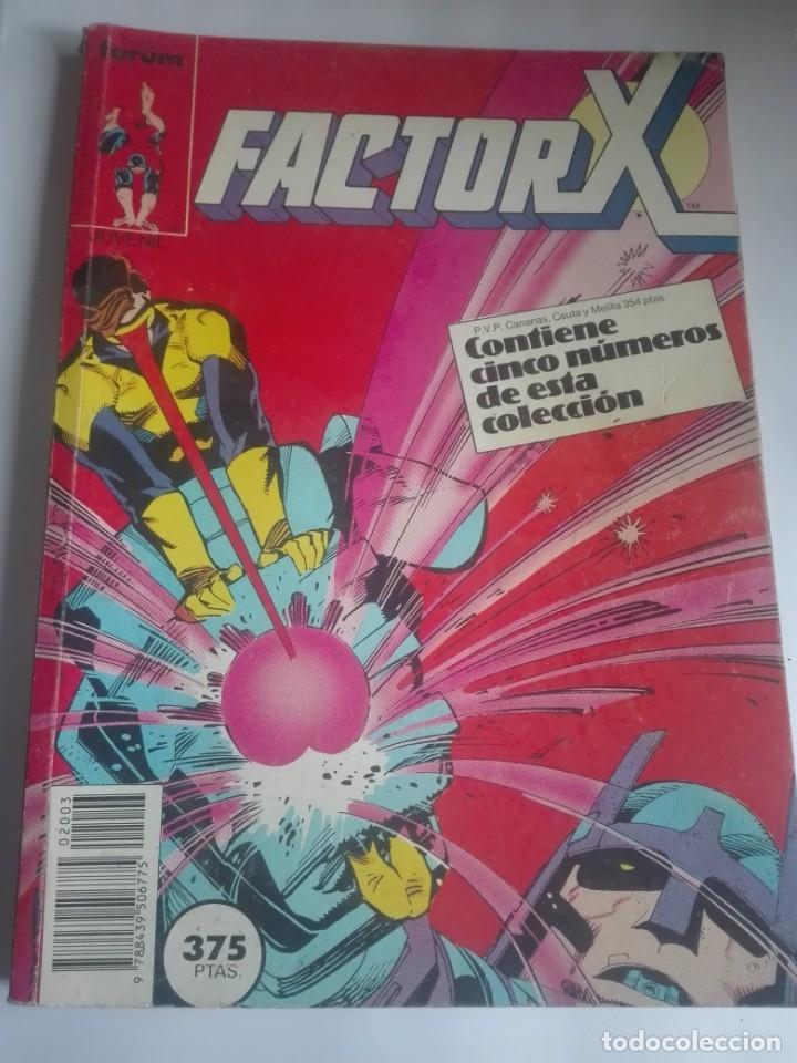 FACTOR X PRIMERA EDICIÓN 11-12-13-14-15 # LL (Tebeos y Comics - Forum - Factor X)