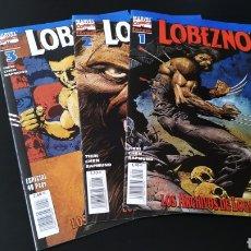 Cómics: SUELTOS PREGUNTAR DE KIOSCO LOBEZNO VOL III LOS ARCHIVOS DE LOGAN COMPLETA FORUM. Lote 176547564