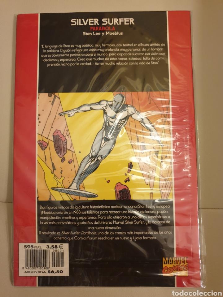 Cómics: Silver Surfer. Parábola. Por Stan Lee y Moebius - Foto 2 - 176607023