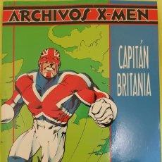 Cómics: ARCHIVOS X MEN: CAPITÁN BRITANIA DE ALAN MOORE Y ALAN DAVIS. TOMO FORUM. Lote 176611004