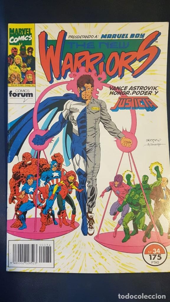 THE NEW WARRIORS VOL.1 Nº34 - FORUM (Tebeos y Comics - Forum - Vengadores)