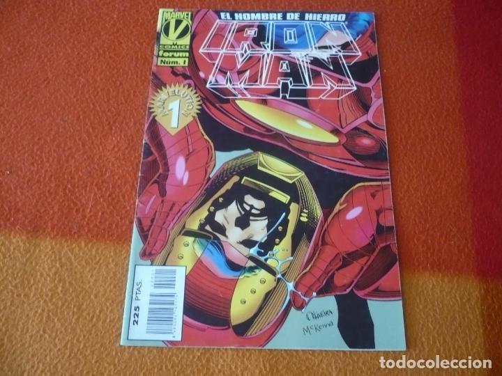 IRON MAN VOL. 3 Nº 1 ( KAVANAGH ) ¡BUEN ESTADO! MARVEL FORUM MARVELUTION (Tebeos y Comics - Forum - Iron Man)