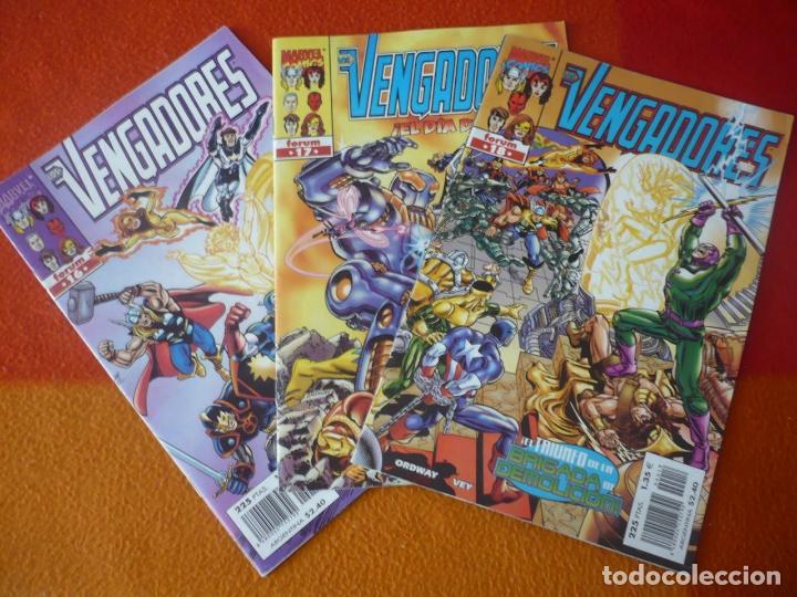 LOS VENGADORES VOL. 3 NºS 16, 17 Y 18 ( ORDWAY ) ¡BUEN ESTADO! MARVEL FORUM (Tebeos y Comics - Forum - Vengadores)