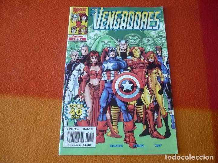 Cómics: LOS VENGADORES VOL. 3 Nº 25 ( BUSIEK PEREZ ) ¡BUEN ESTADO! MARVEL FORUM - Foto 1 - 176656514